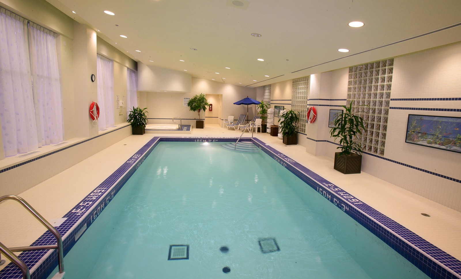 Hilton garden inn toronto markham experience york region for Swimming pools downtown toronto